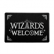 Capacho Wizards Welcome - Harry Potter
