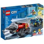 LEGO City Polícia de Elite: Perseguição de Carro Perfurador 60273