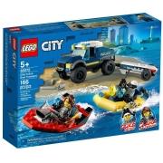 LEGO City Transporte de Barco da Polícia de Elite 60272