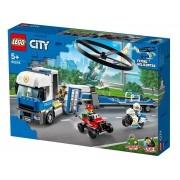 LEGO City - Transporte de Helicóptero da Policia 60244