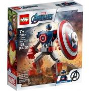 LEGO Super Heroes Marvel - Armadura Robô do Capitão América 76168
