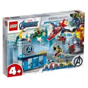 LEGO Super Heroes Marvel Os Vingadores A Ira de Loki 76152