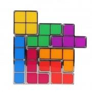 Luminária Retro de LED Tetris Abajur Desmontável