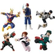 MY HERO ACADEMIA SUPER KIT COM 6 PERSONAGENS DE 3.5""