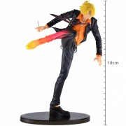 ONE PIECE SCULTURE - SANJI - DIABLE JAMBE COLOR