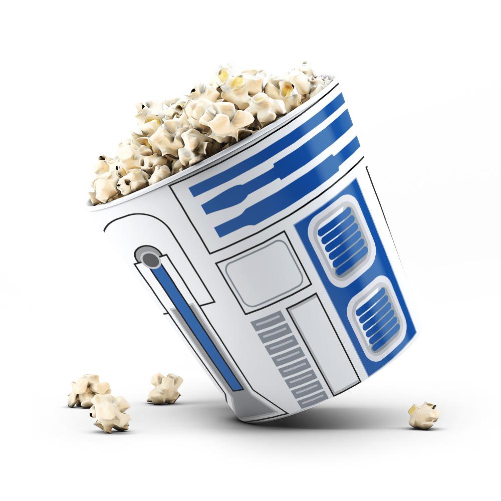 Balde de pipoca 3,5L - R2D2 Star Wars