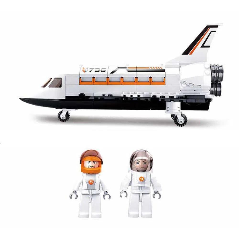 Blocos de Montar Astronautas Ônibus Espacial 231 Peças - Multikids - BR1034