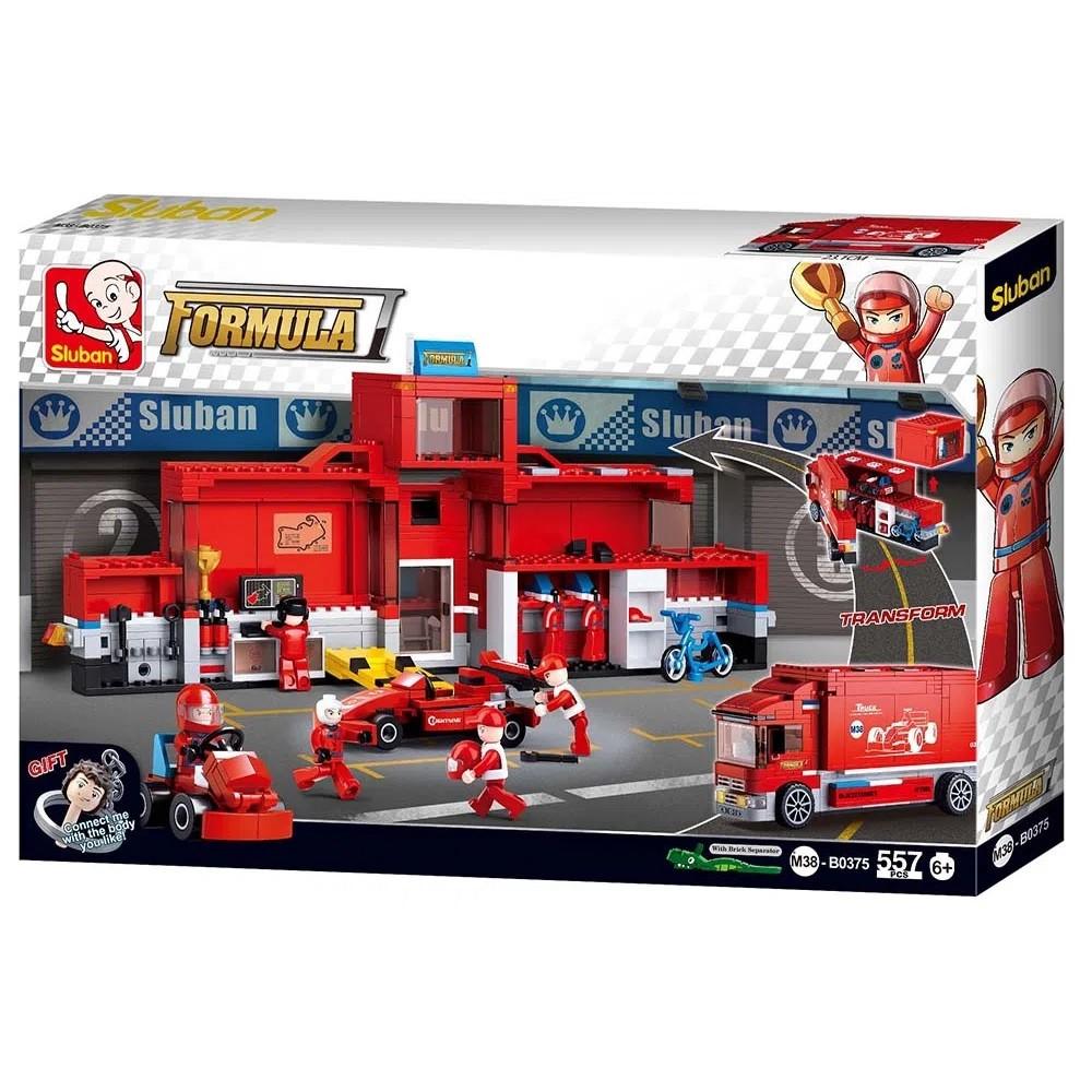 Blocos de Montar Caminhão Fórmula 1 de 557 Peças - Multikids - BR905