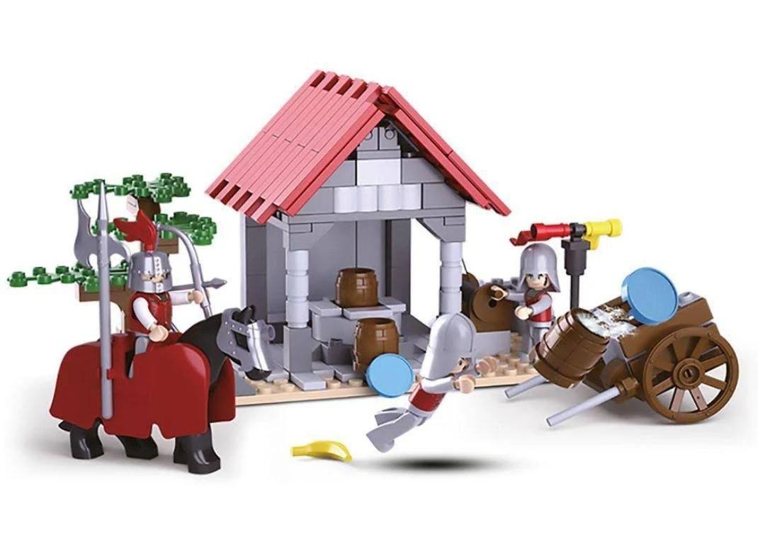Blocos de Montar Cavaleiros Poço D'água 237 Peças - Multikids - BR1342