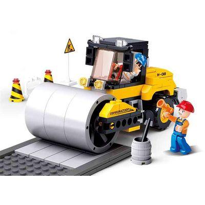 Blocos de Montar Construção Rolo Compressor 171 Peças - Multikids - BR828