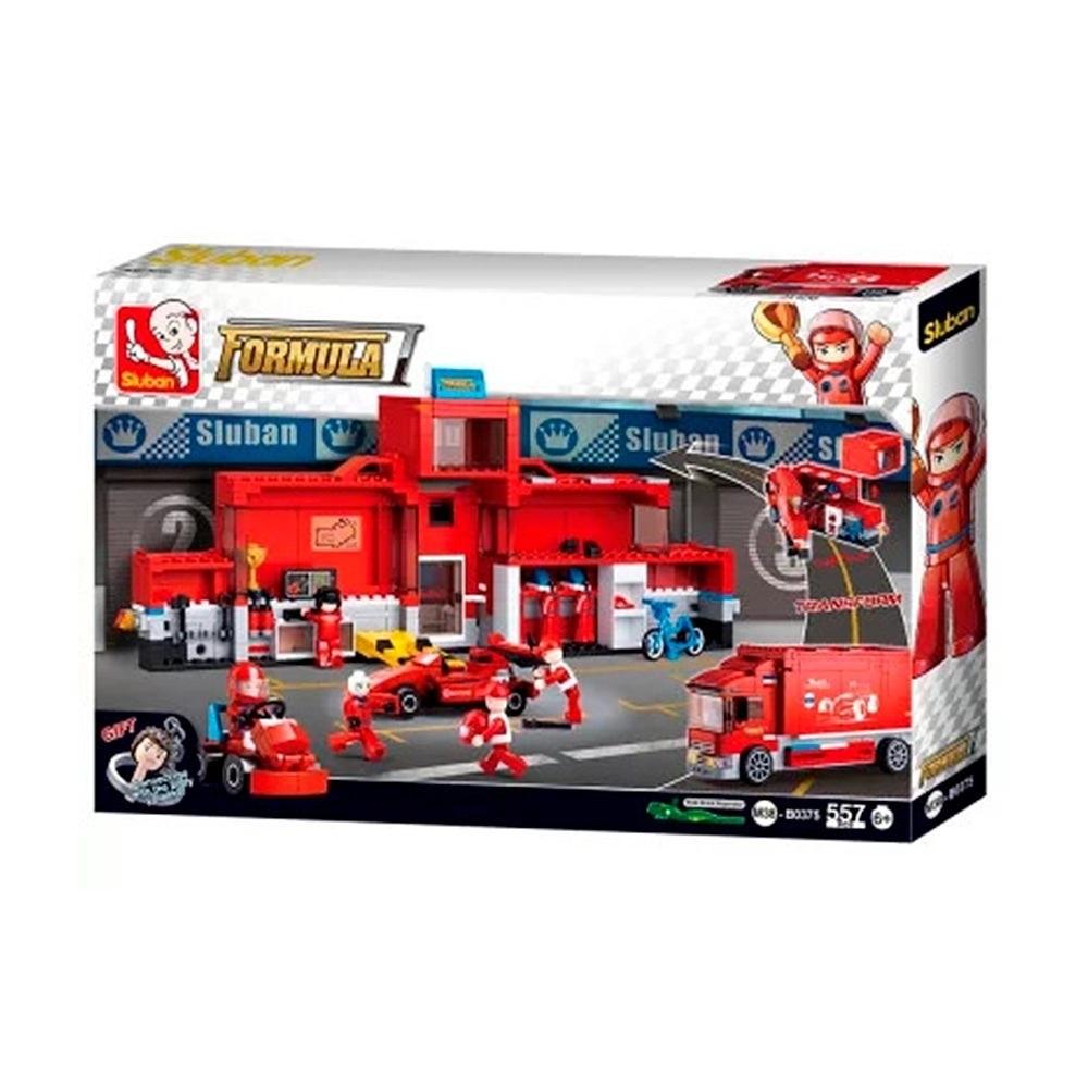 Blocos de Montar F1 Racing 557 Peças - Multikids - BR1198