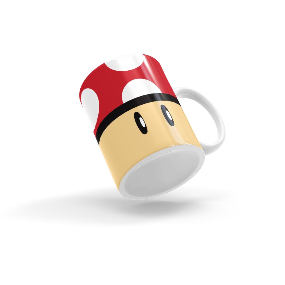 Caneca Mushroom Super Mario Bros