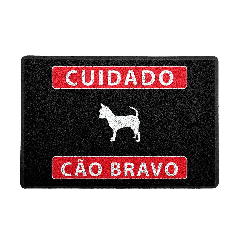 Capacho Cuidado Cão Bravo