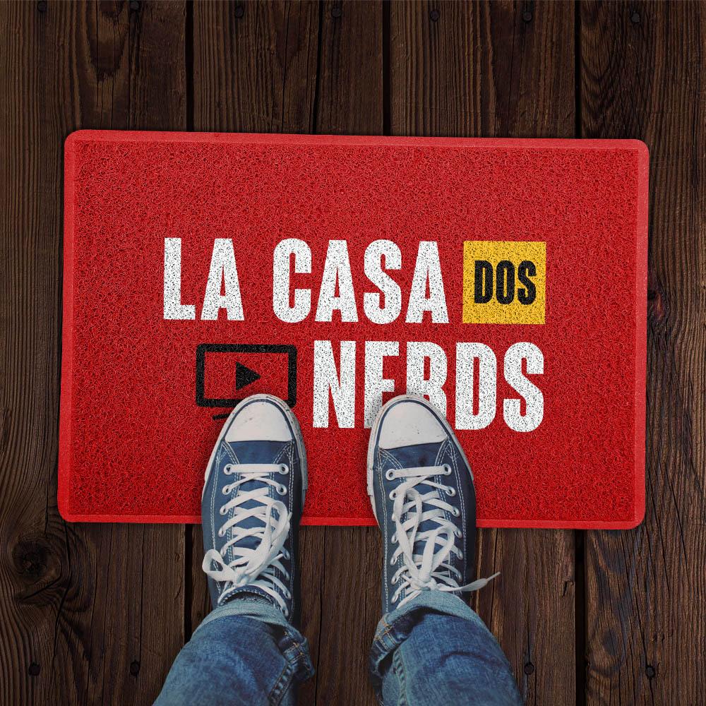 Capacho La Casa dos Nerds