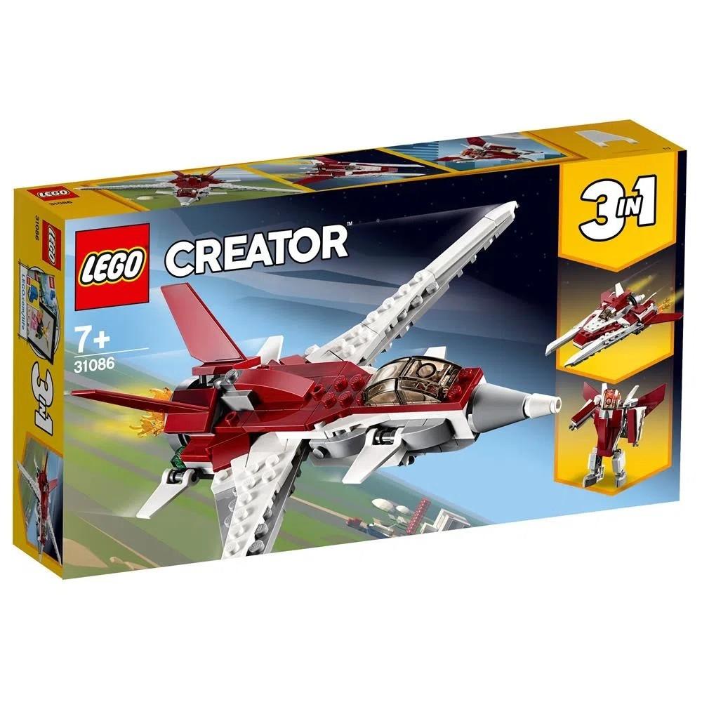 LEGO Creator - Modelo 3 Em 1: Voos Futuristas