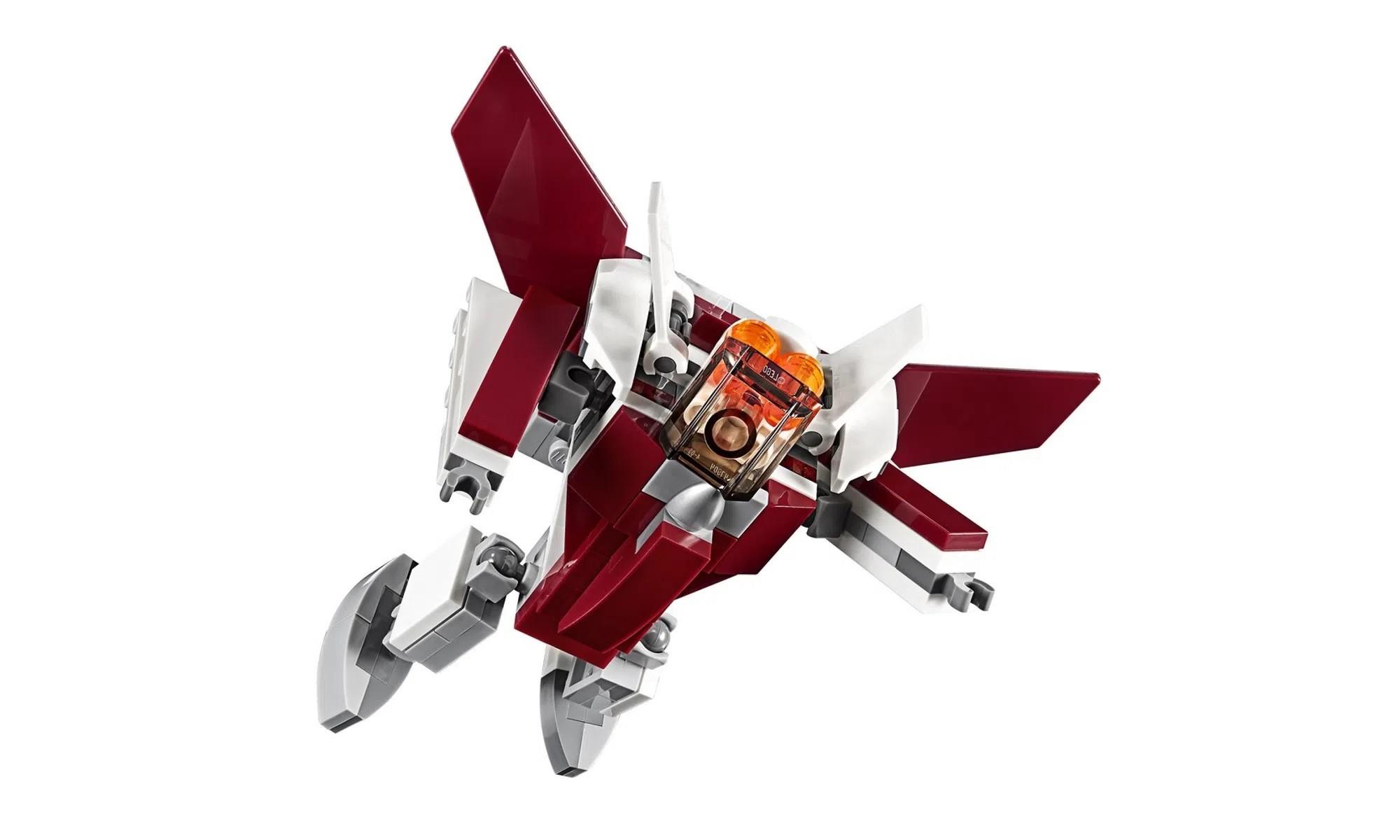 LEGO Creator - Modelo 3 Em 1: Voos Futuristas 31086
