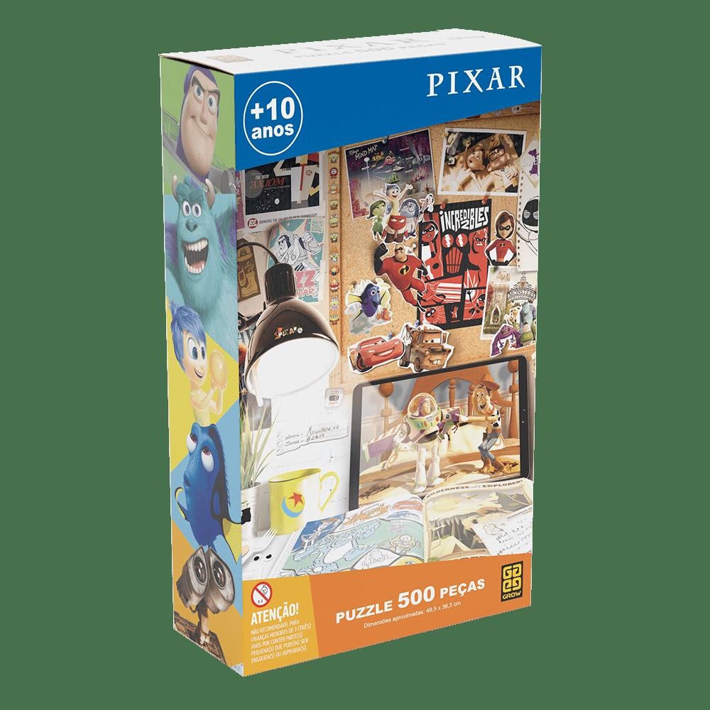 Quebra-Cabeça Puzzle 500 peças Pixar
