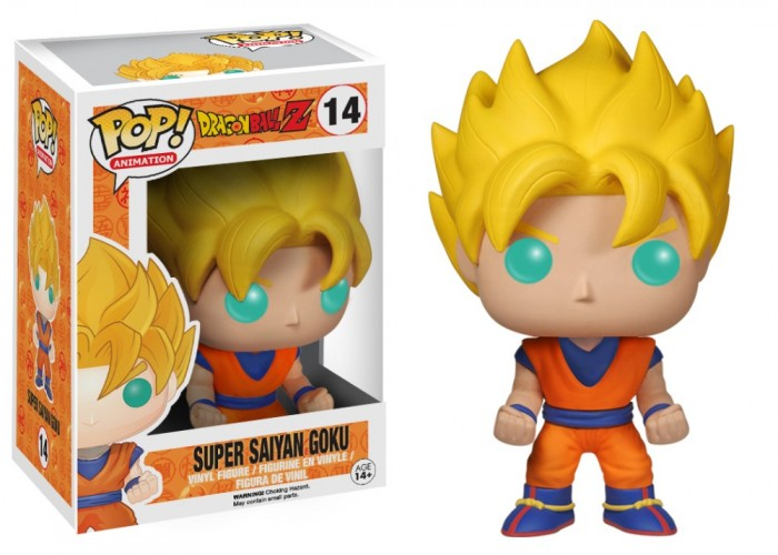 FUNKO POP! DRAGON BALL Z SUPER SAIYAN GOKU #14