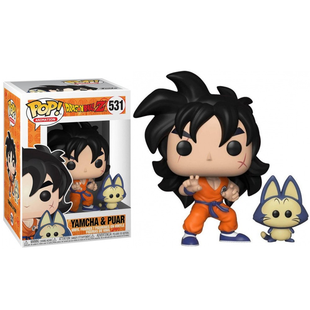 FUNKO POP! DRAGON BALL Z YAMCHA & PUAR #531