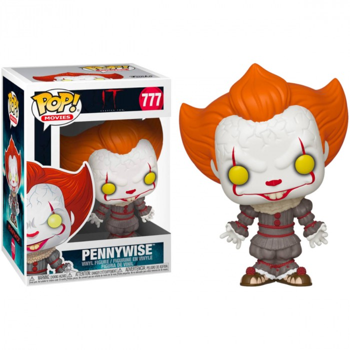 FUNKO POP! IT: CHAPTER 2 PENNYWISE WITH OPEN ARNS #777