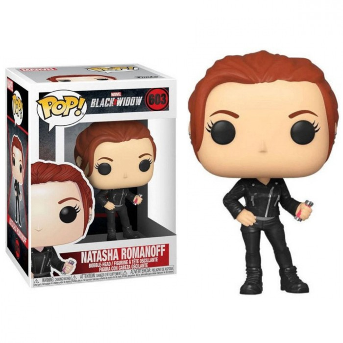 FUNKO POP! MARVEL BLACK WIDOW VIÚVA NEGRA NATASHA ROMANOFF #603
