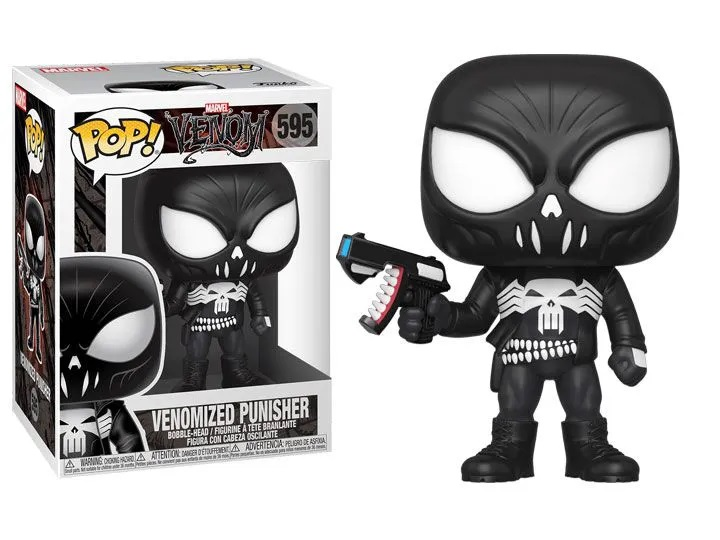 FUNKO POP! MARVEL JUSTICEIRO VENOM VENOMIZED PUNISHER #595