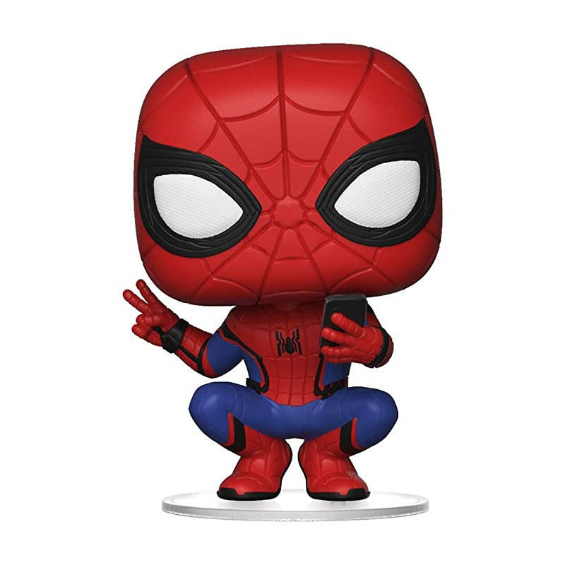 FUNKO POP! MARVEL SPIDER MAN FAR FROM HOME (HERO SUIT) #468