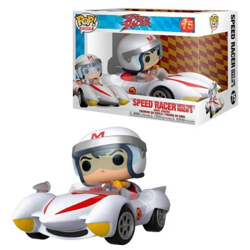 FUNKO POP! SPEED RACER WITH THE MACH 5 #75
