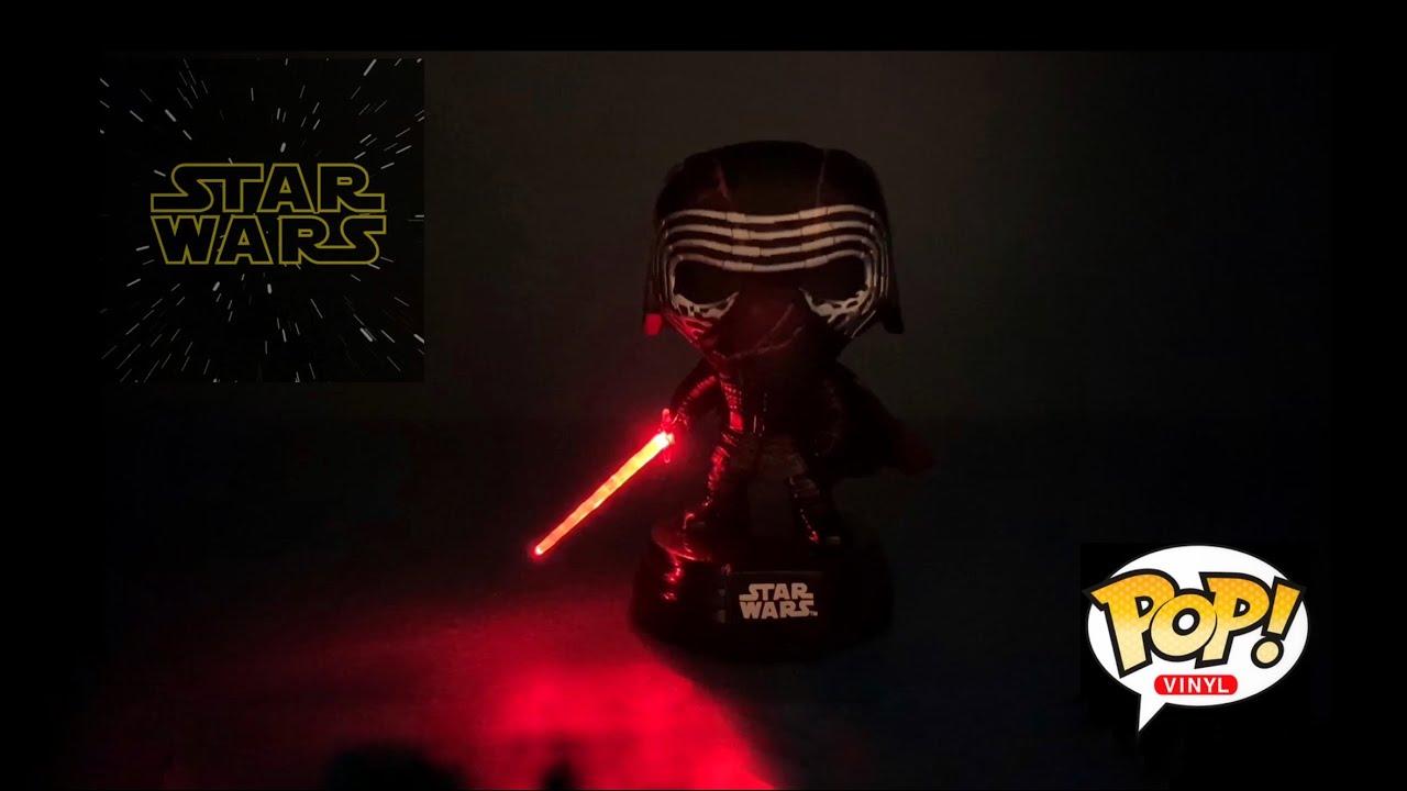 FUNKO POP! STAR WARS KYLO REN SUPREME LEADER LIGHTS & SOUND #308