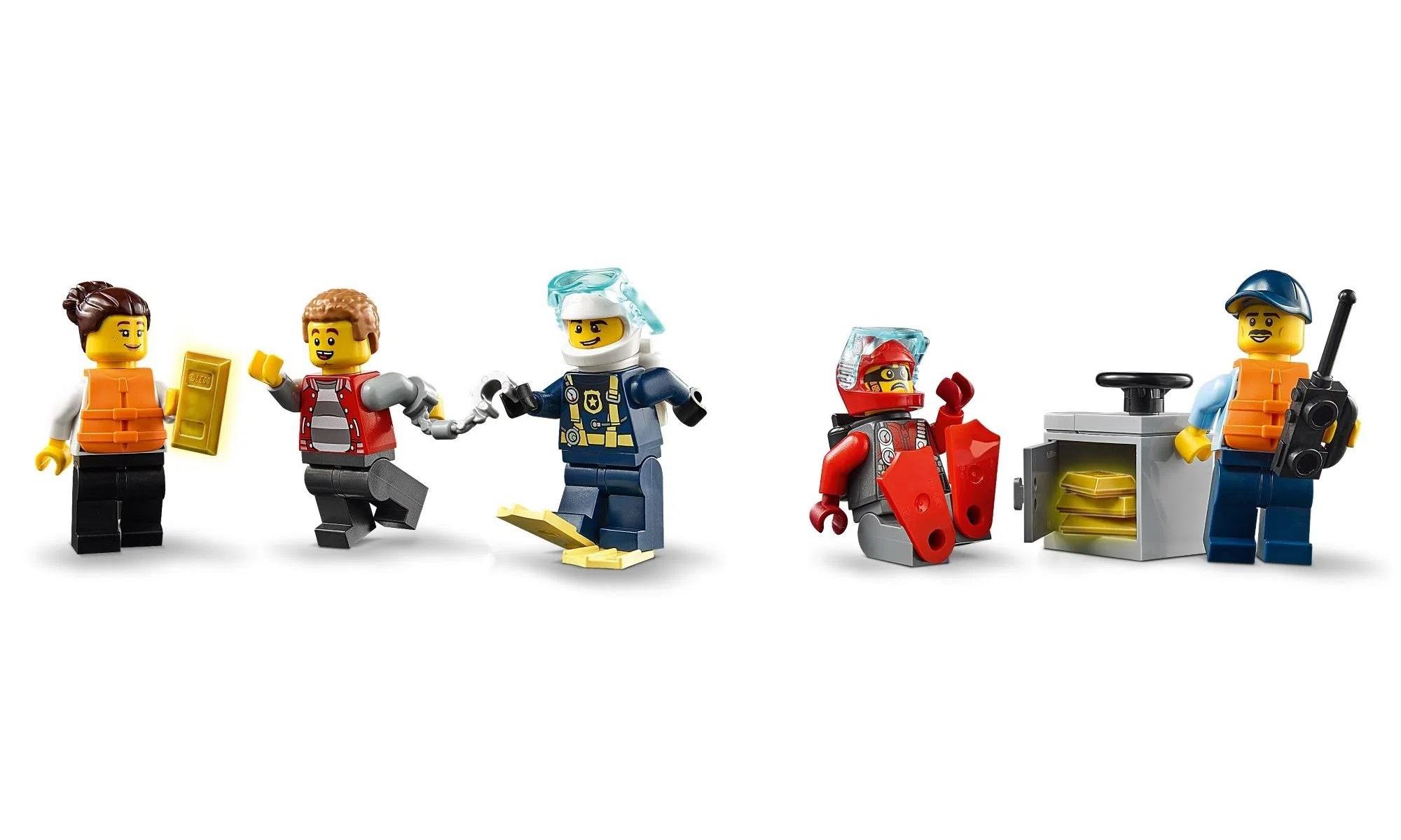 LEGO City Barco da Patrulha da Polícia 60277