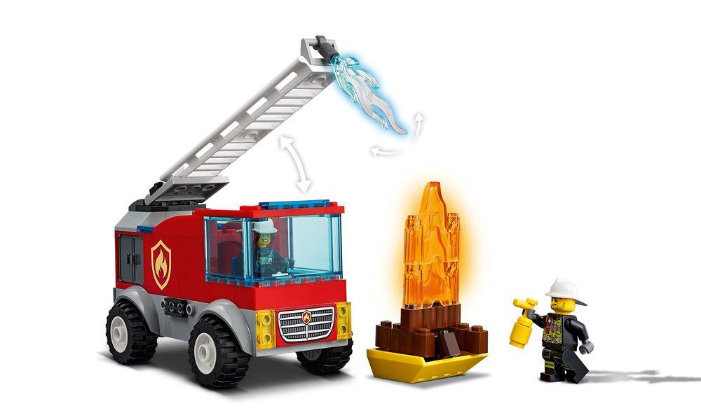 LEGO City Caminhão dos Bombeiros com Escada 60280