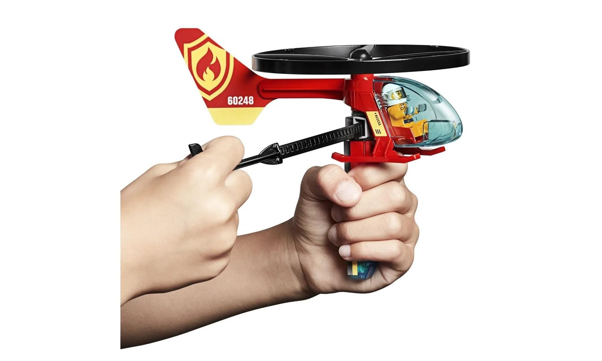 LEGO City Combate ao Fogo com Helicóptero 60248
