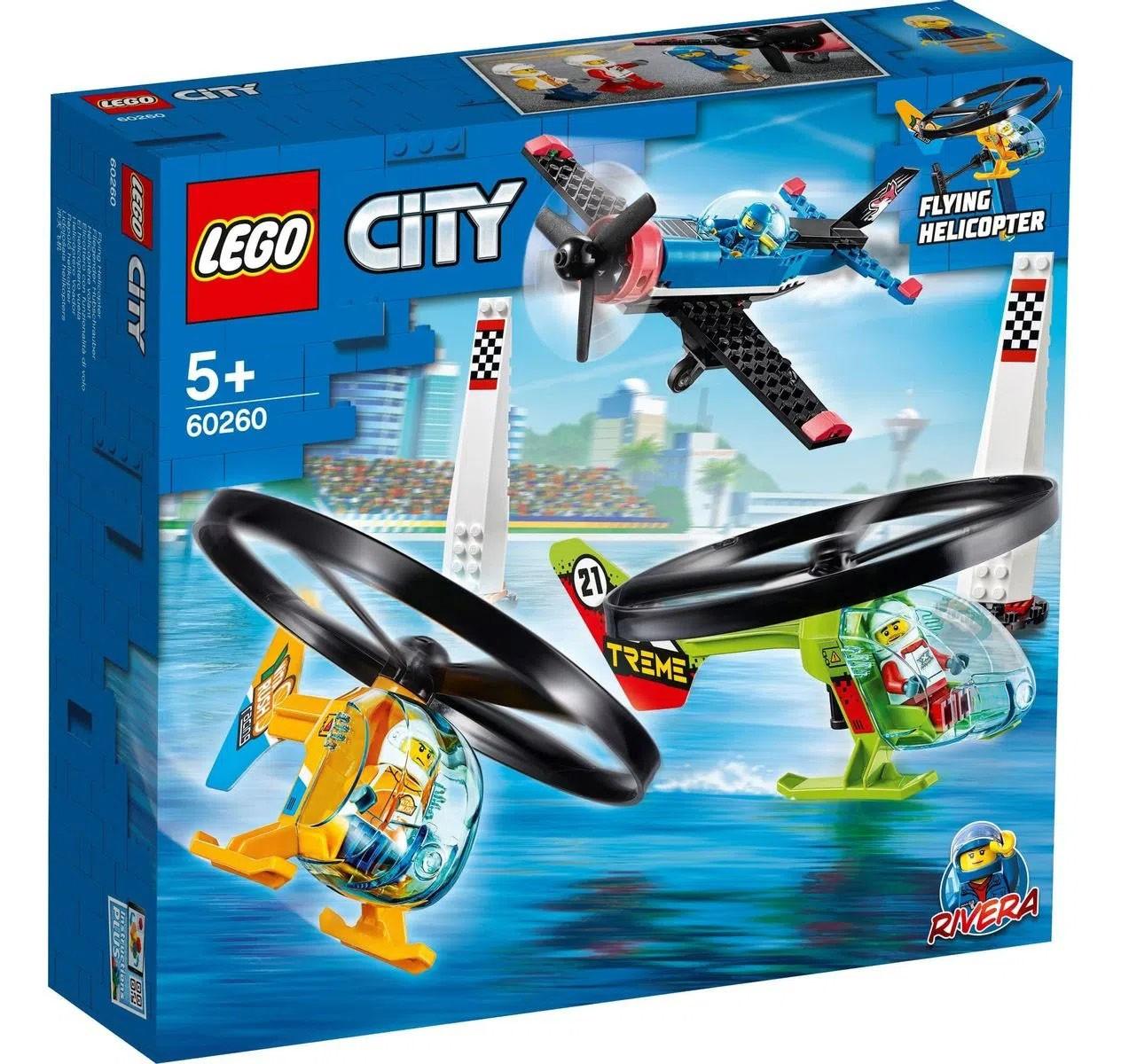LEGO City Corrida Aérea 60260
