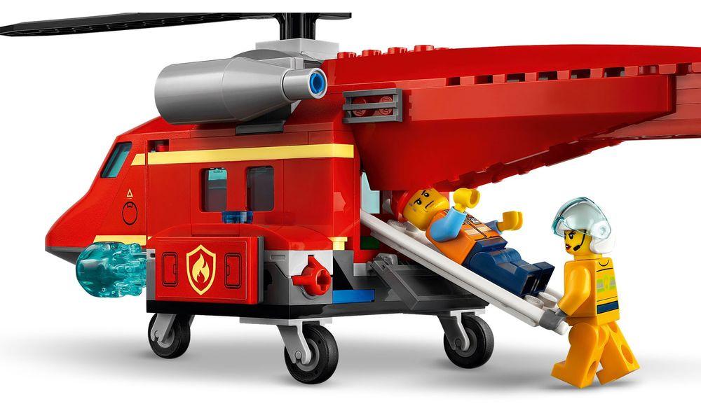 LEGO City Helicóptero de Resgate dos Bombeiros 60281