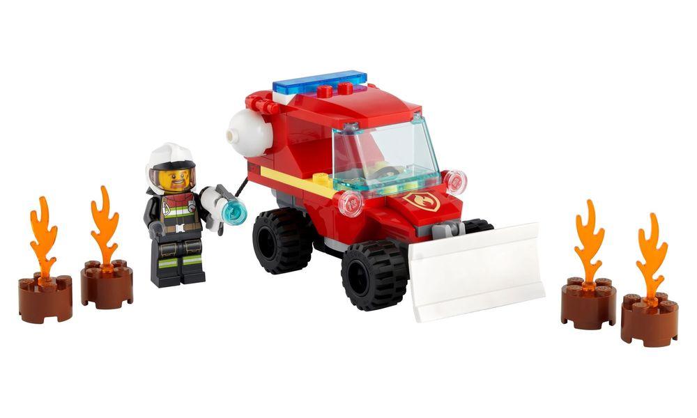LEGO City Jipe de Assistência dos Bombeiros 60279