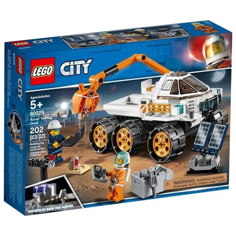 LEGO City Teste de Condução de Carro Lunar 60225