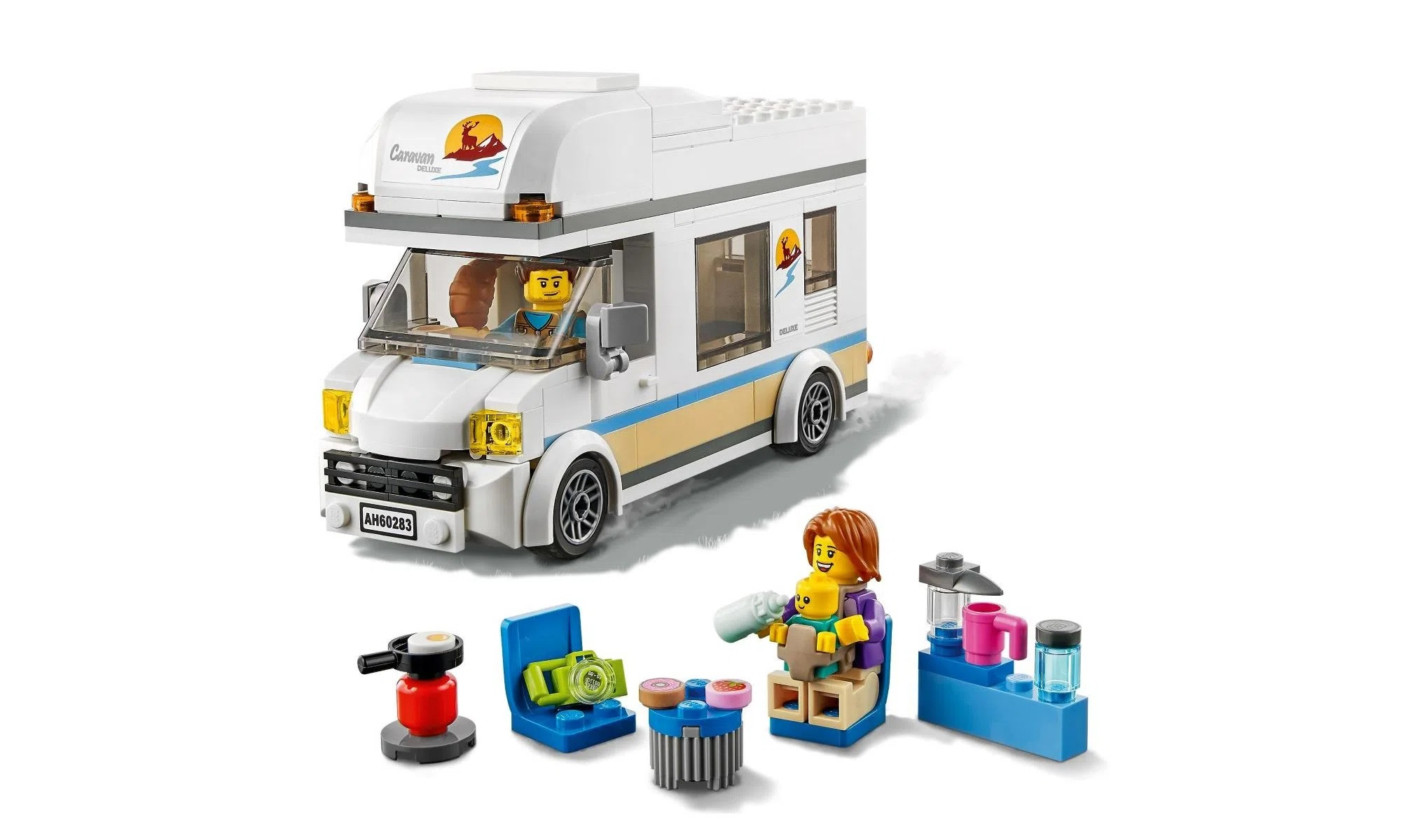 LEGO City Trailer de Férias 60283