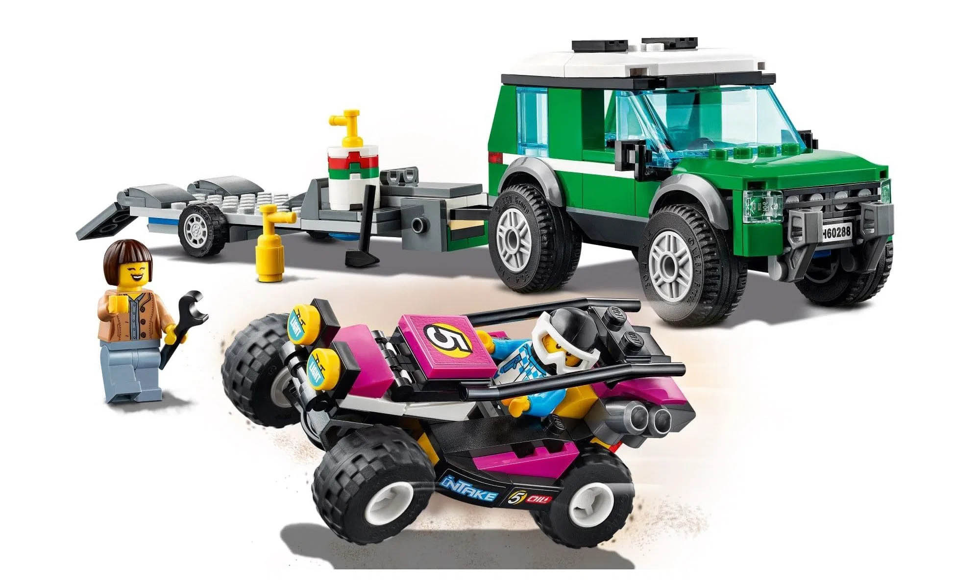 LEGO City Transportador de Buggy de Corrida 60288