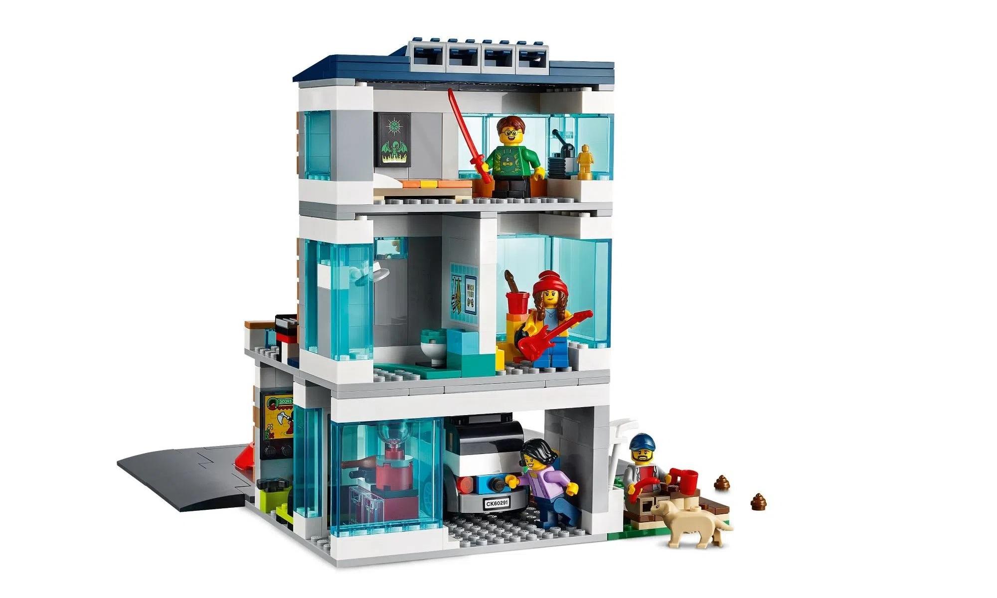 LEGO City Casa de Família Moderna 60291