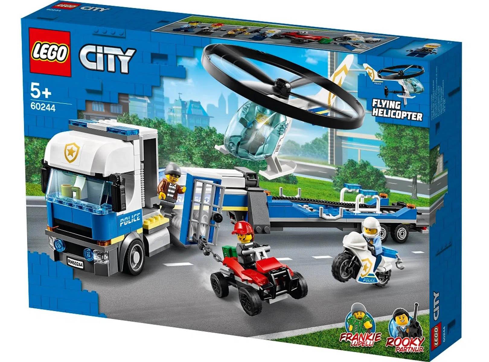 LEGO City Transporte de Helicóptero da Policia 60244