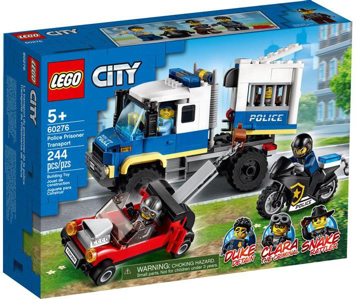 LEGO City Transporte de Prisioneiros da Polícia 60276