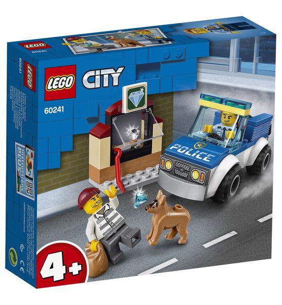 LEGO City Unidade de Cães-Policiais 60241