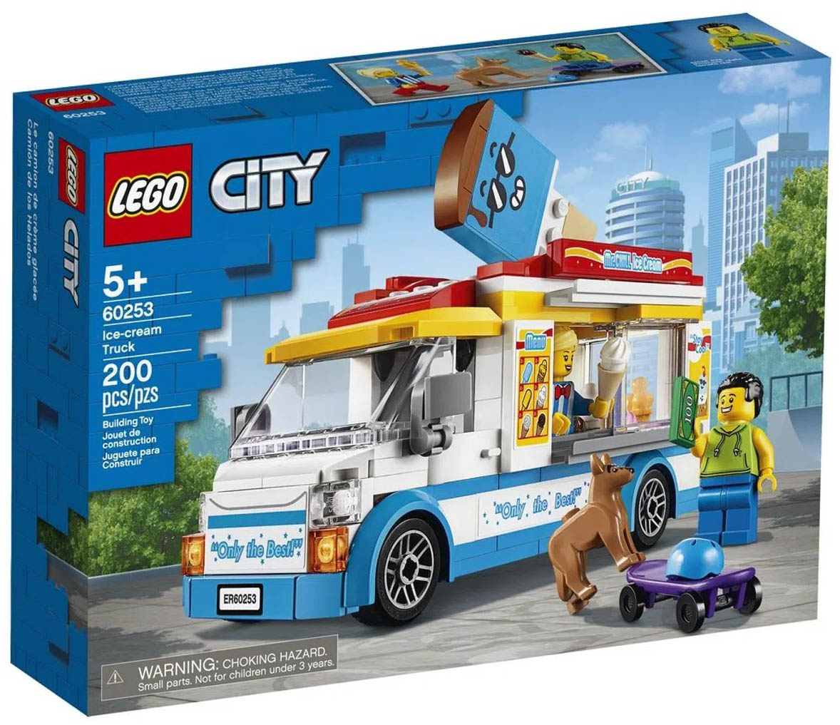 LEGO City Van de Sorvetes 60253