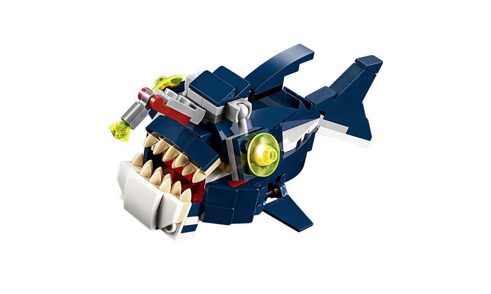 LEGO Creator - 3 Em 1: Criaturas do Fundo do Mar 31088