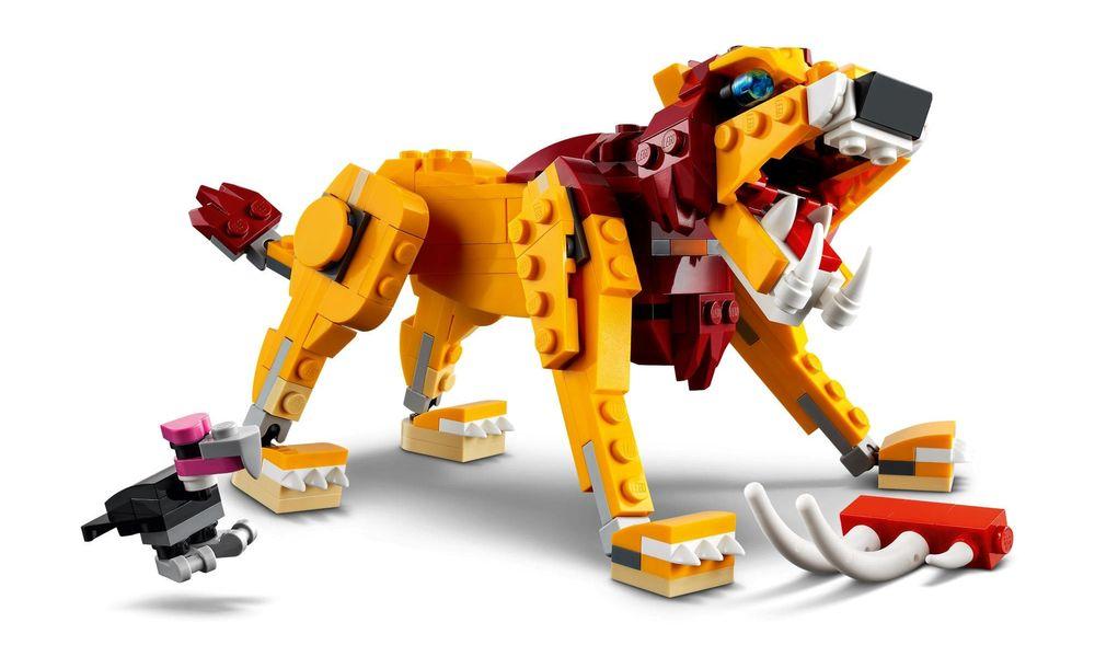 LEGO Creator 3 Em 1 - Leão Selvagem 31112