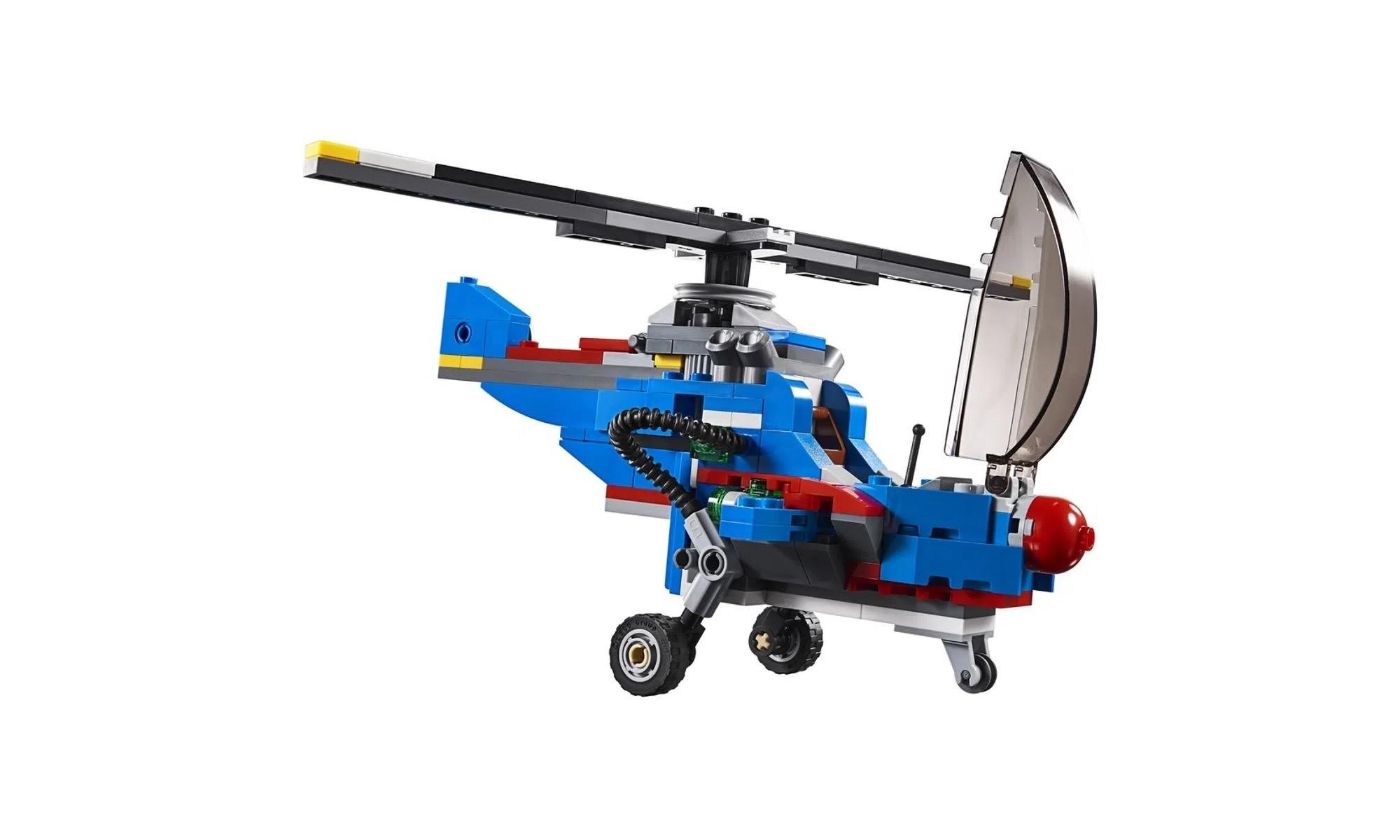 LEGO Creator - Modelo 3 Em 1: Aeronaves de Corrida 31094