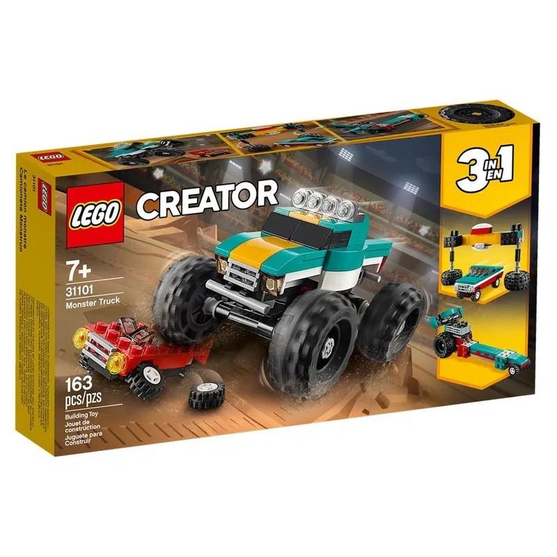 LEGO Creator - Modelo 3 Em 1: Caminhão Gigante