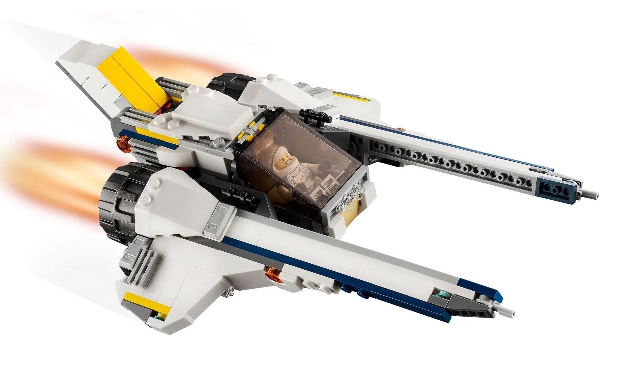 LEGO Creator - Modelo 3 Em 1: Carro Lunar Explorador 31107