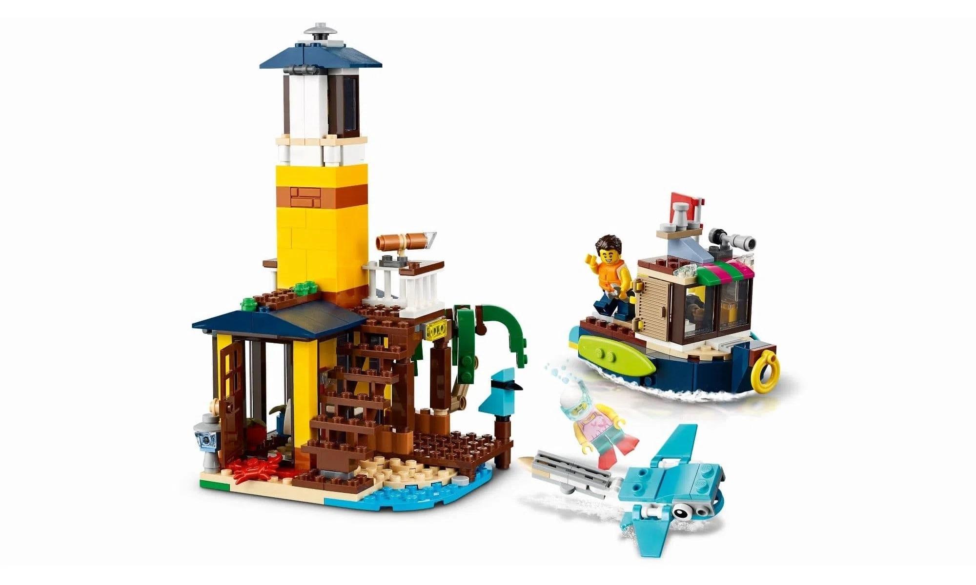 LEGO Creator - Modelo 3 Em 1: Casa da Praia de Surfista 31118