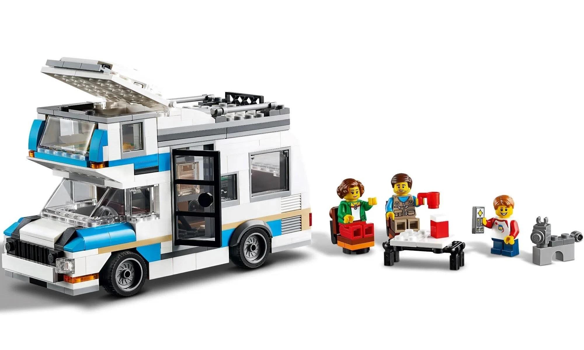 LEGO Creator - Modelo 3 Em 1: Férias em Família no Trailer 31108